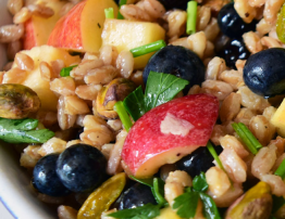 farro blueberry saad