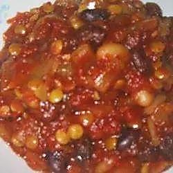 lentil and bean