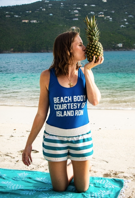 Pineapple Kisses Island RDN Nutrition St Thomas Virgin Islands