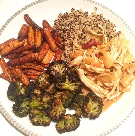 healthy tips for the holidays half plate vegetables